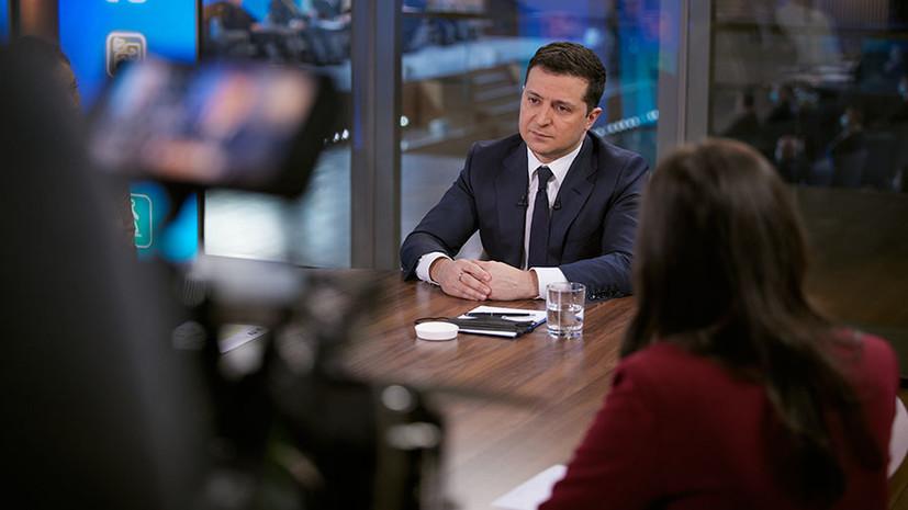 Пресс-подход: Киев планирует открыть центр противодействия дезинформации