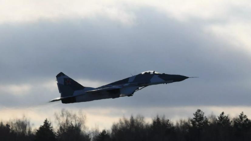 Истребители МиГ-35С поступили в Воздушно-космические силы России