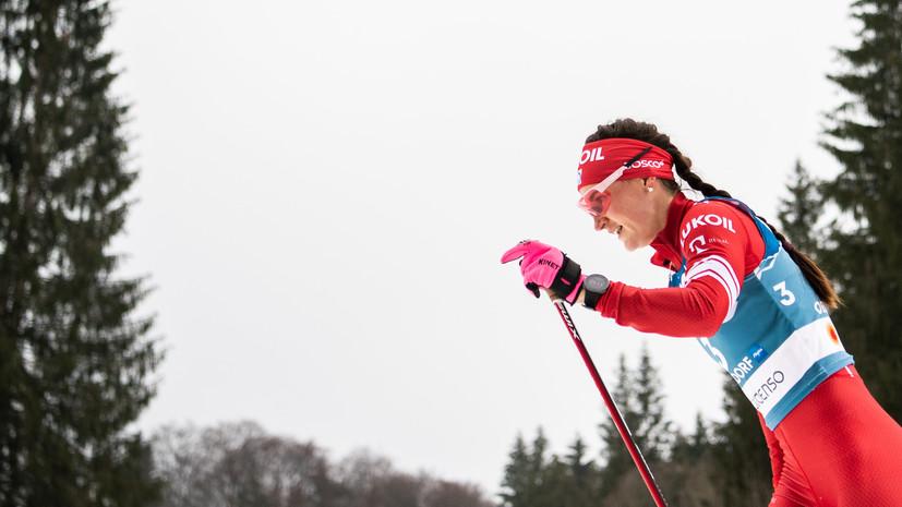 Марафонский финал: Ступак выиграла бронзу на последнем старте КМ по лыжным гонкам, Большунов занял шестое место