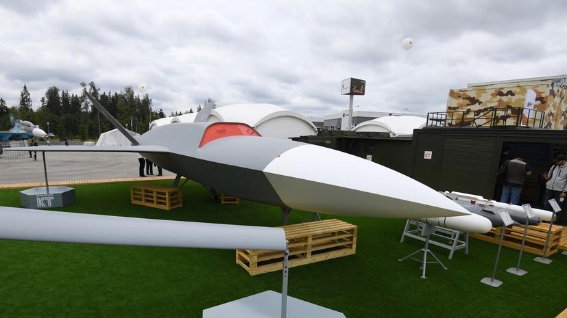 «Удары будут наноситься точечно»: какие преимущества может получить российский беспилотный комплекс «Гром»