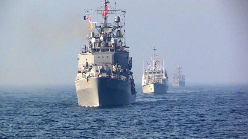 ВМС Украины провели учения в Чёрном море с кораблями НАТО