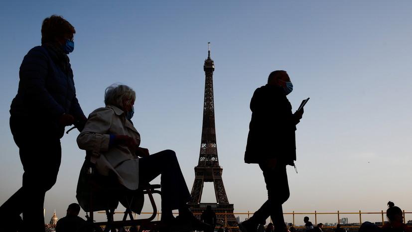 Во Франции выявили новый вариант коронавируса