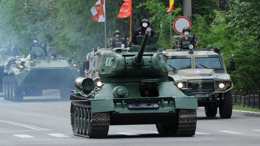 Технику времён Великой Отечественной войны доставили под Хабаровск