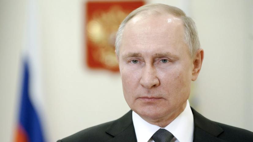 Путин поздравил с седьмой годовщиной воссоединения Крыма с Россией