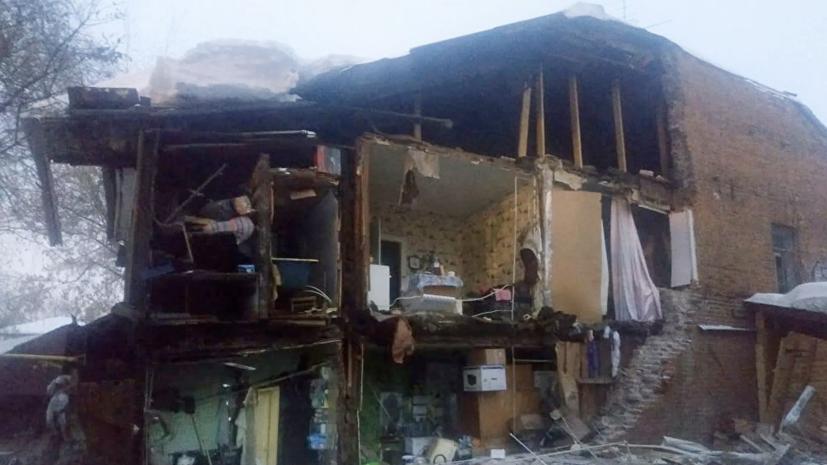 В Самаре возбудили дело о халатности после обрушения стены жилого дома