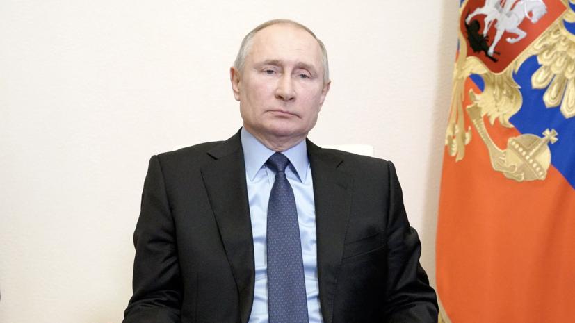 Путин посетил концерт по случаю годовщины воссоединения Крыма с Россией
