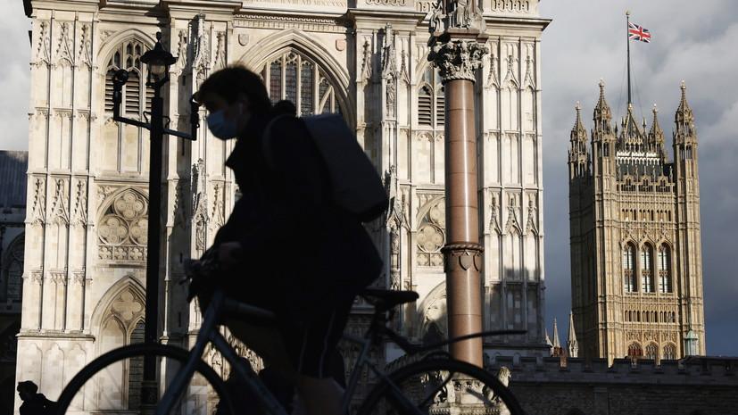 За сутки в Британии зафиксировали более 6 тысяч случаев коронавируса