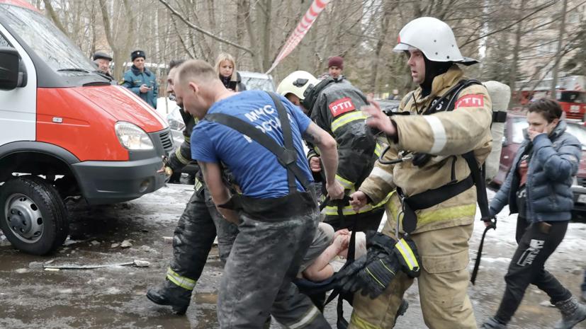 Три человека погибли в результате обрушения в доме в Химках