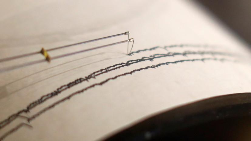 В Тихом океане произошло землетрясение магнитудой 6,1