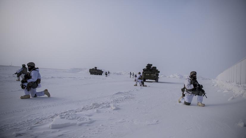 «Будут только усиливать милитаризацию региона»: зачем ВВС США и Канады проводят совместные учения в Арктике