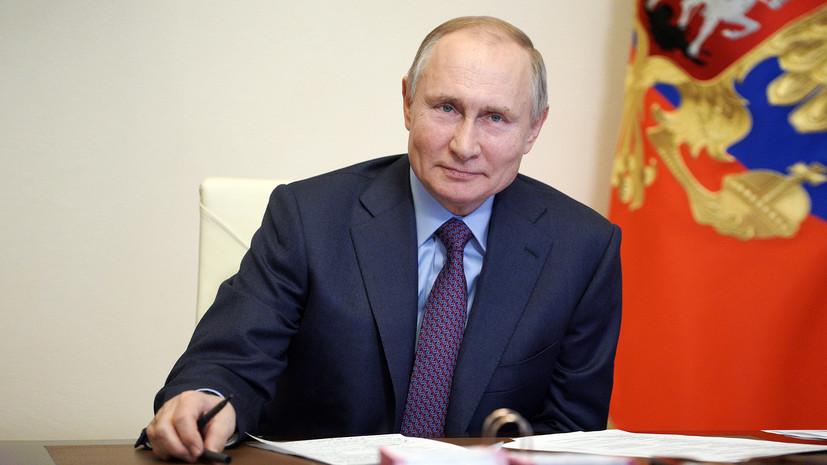 «Одной из трёх наших вакцин»: Путин 23 марта сделает прививку от COVID-19