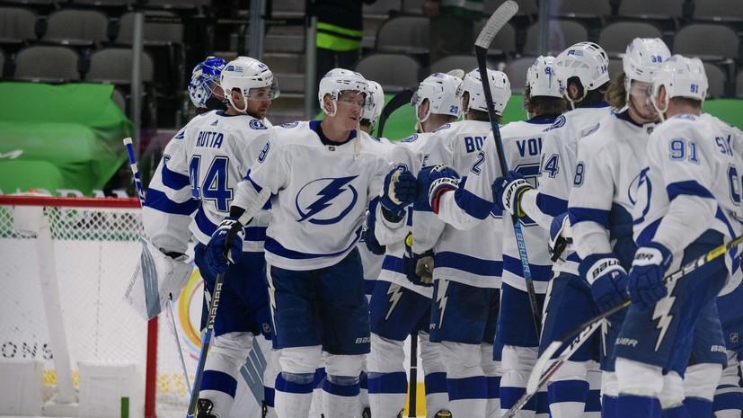 «Тампа» продлила победную серию в НХЛ, обыграв «Даллас»