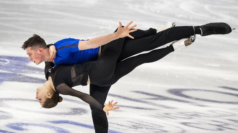 Галлямов заявил, что испытывает прекрасные ощущения от дебюта на ЧМ по фигурному катанию