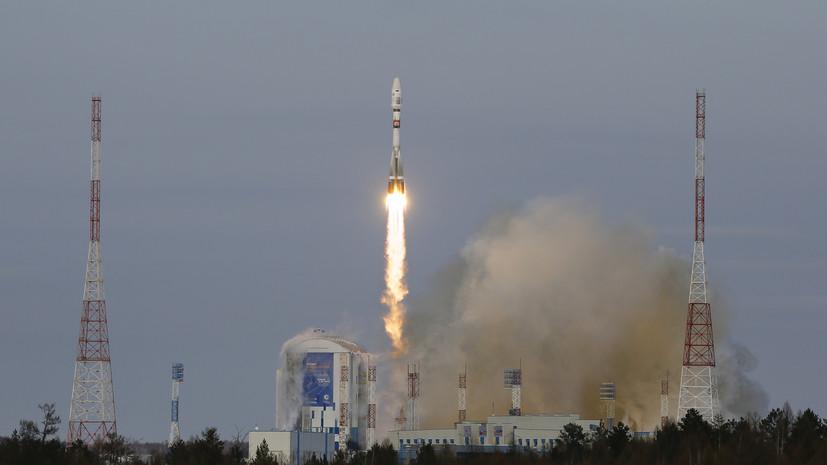 С космодрома Восточный осуществлён пуск ракеты «Союз-2.1б»