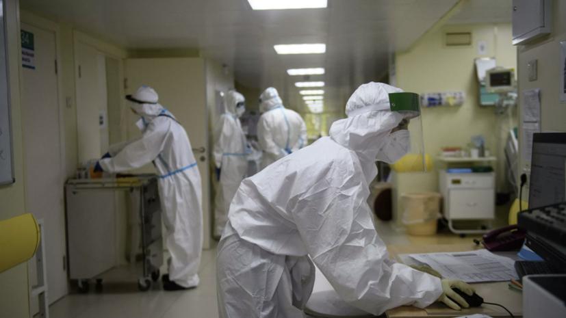 В России за сутки зафиксировали9221 случай коронавируса