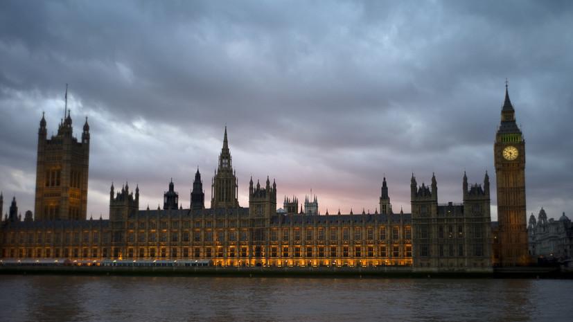Британский парламент продлил на полгода закон о борьбе с коронавирусом