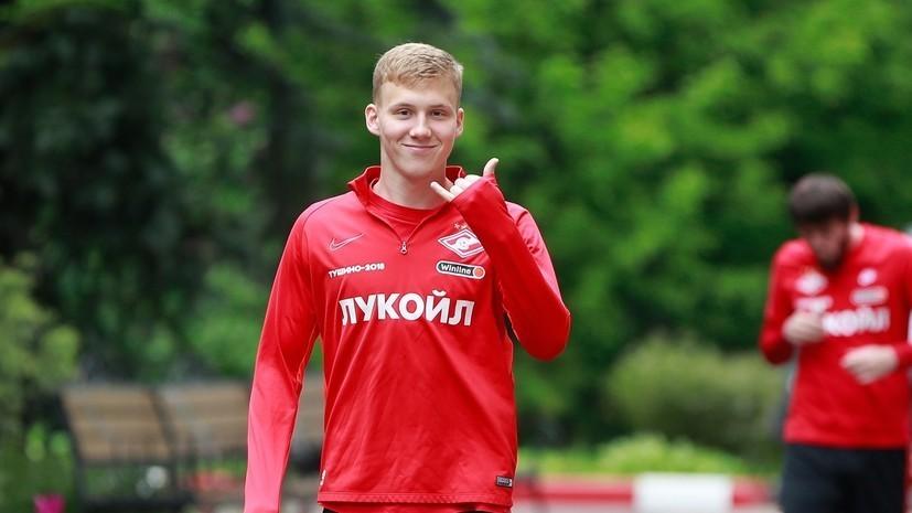 Маслов получил травму в первом матче молодёжного ЧЕ по футболу