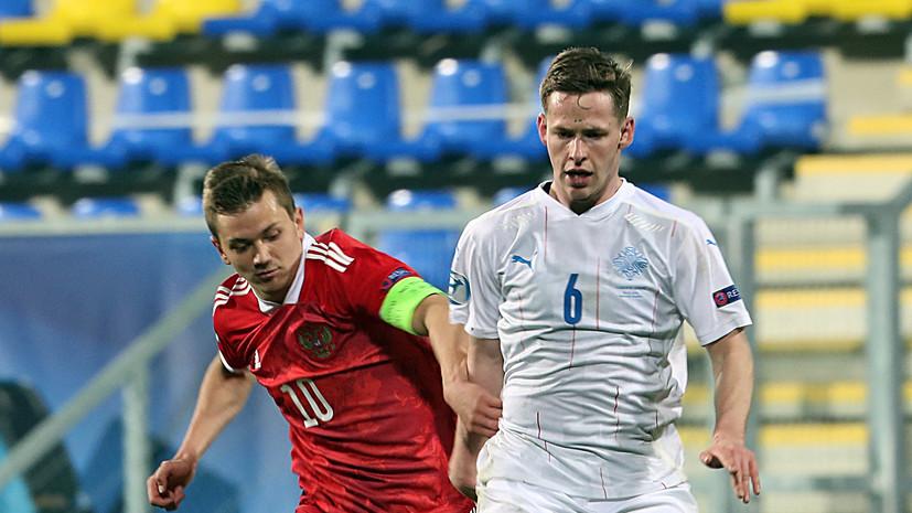 Галактионов не считает лёгкой победу молодёжной сборной России над Исландией на старте ЧЕ