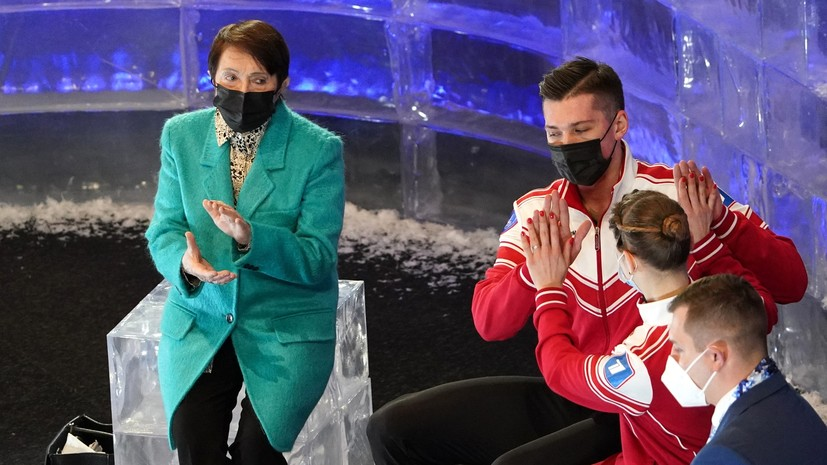 Москвина о триумфе Мишиной и Галлямова под песню We Are The Champions