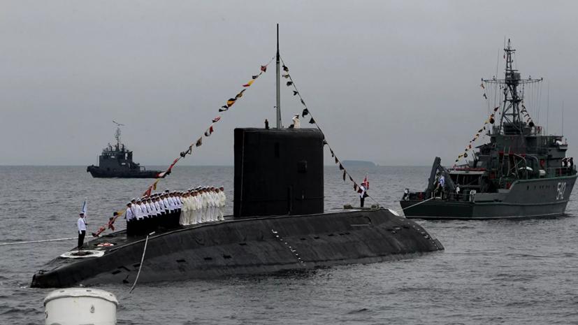 В Петербурге на воду спустили третью подлодку типа «Варшавянка»