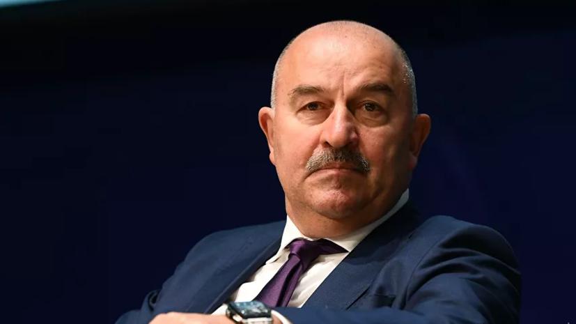 Черчесов рассказал о подготовке сборной России к матчу со Словенией