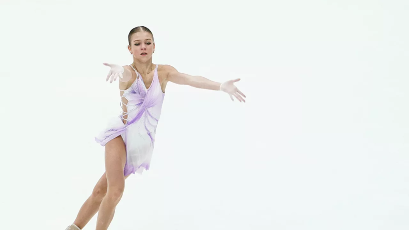Трусова заявила пять четверных в произвольной программе на ЧМ