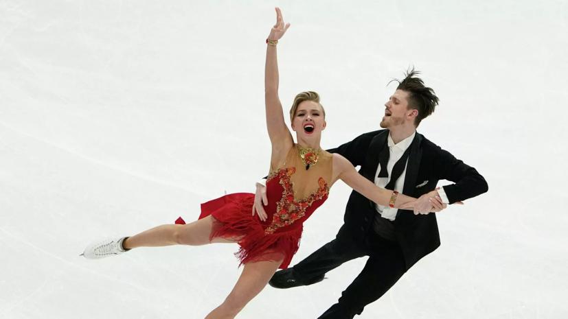 Тренер Степановой и Букина расстроена неудачей фигуристов в ритм-танце на ЧМ