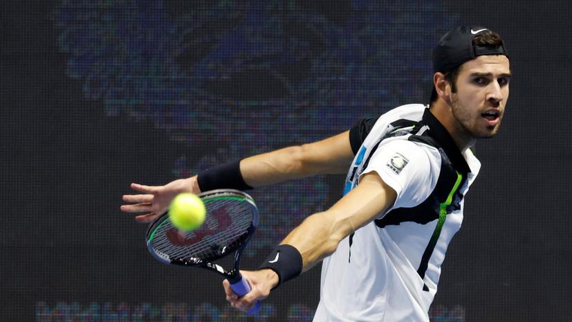 Хачанов победил Ханфмана во втором круге турнира WTA в Майами