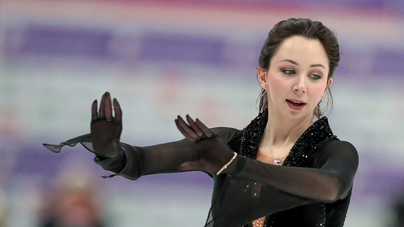 Туктамышева рассказала, почему не сдержала слёз после произвольной программы на ЧМ