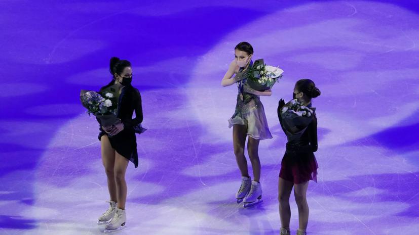 Путин поздравил российских спортсменок с победой на ЧМ по фигурному катанию