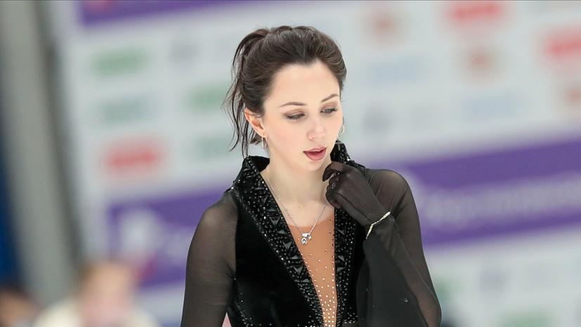 Туктамышева заявила, что хочет посвятить серебро на ЧМ всем женщинам в фигурном катании