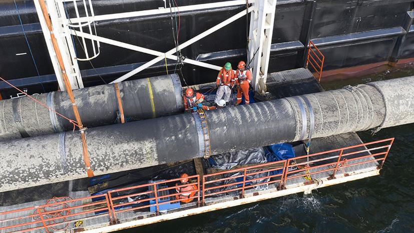 «Дискредитация в глазах Европы»: как в Польше решили наказать два судна за участие в «Северном потоке — 2»