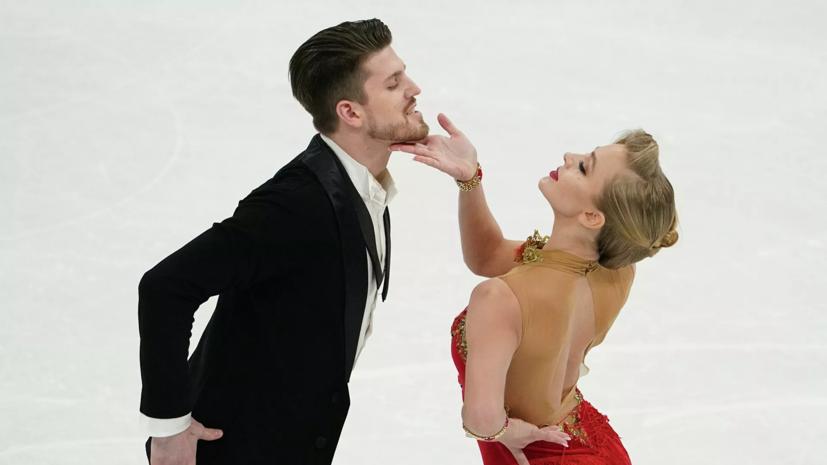Фигуристка Степанова — о произвольном танце на ЧМ: нам было больше нечего терять