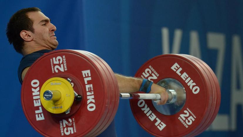 Российские тяжелоатлеты Чен и Беджанян дисквалифицированы начетыре года за допинг