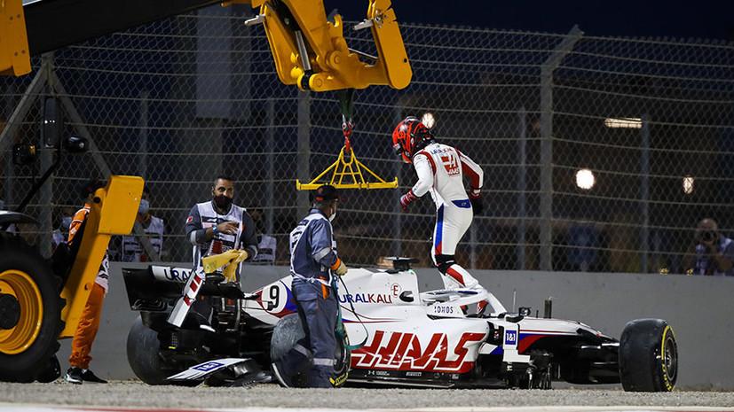 Победа Хэмилтона, дебют сына Шумахера и сход Мазепина на первом круге: чем запомнился Гран-при Бахрейна «Формулы-1»