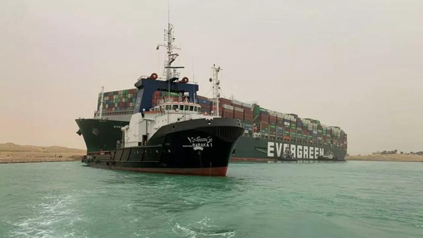 В Египте заявили о разрешении ситуации с судном в Суэцком канале