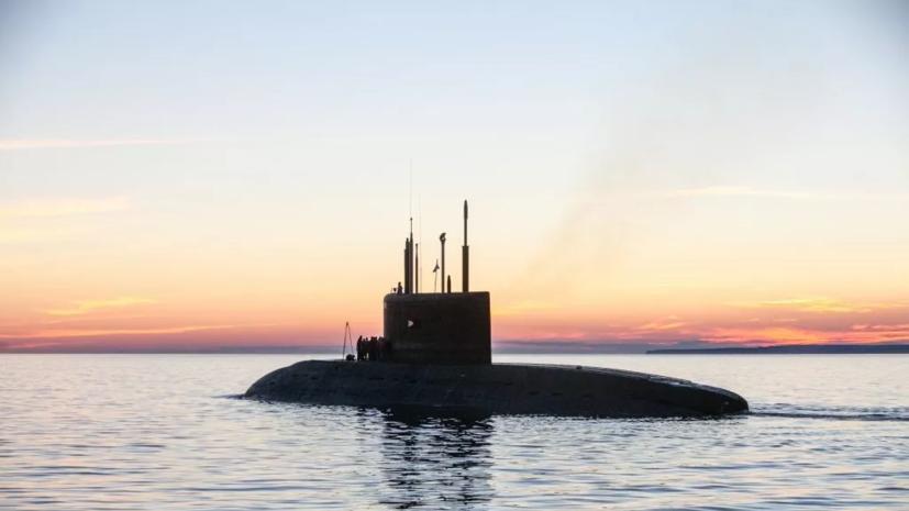 Подводные лодки ЧФ провели учебные торпедные стрельбы