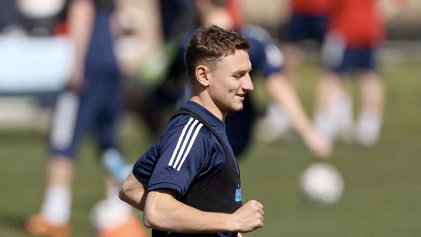 Чалов включён в десятку талантливых футболистов молодёжного Евро