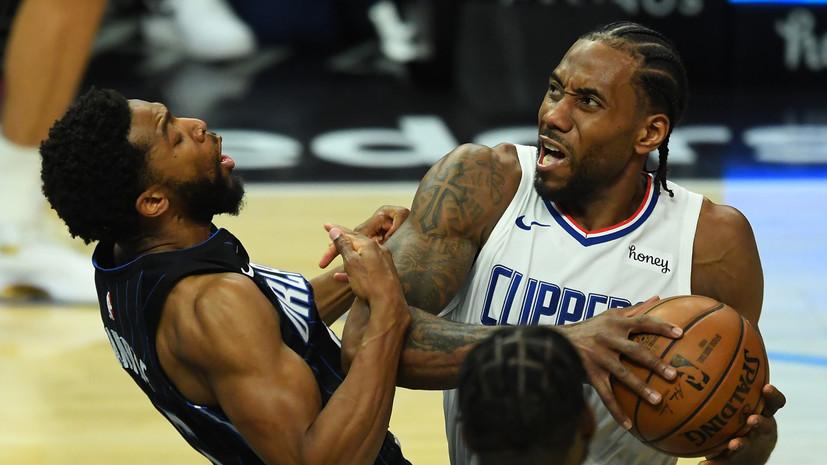 «Орландо» прервал шестиматчевую победную серию «Клипперс» в НБА