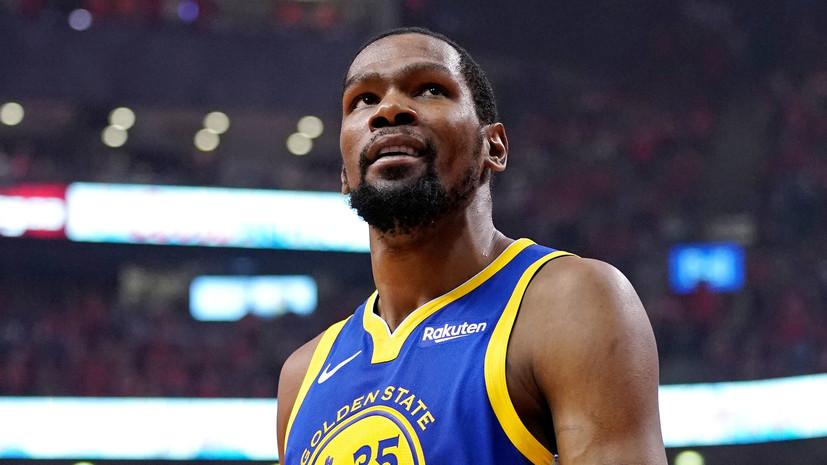 Голливудский актёр сообщил, что получает угрозы от звезды НБА Дюранта