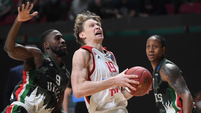 УНИКС одолел«Локомотив-Кубань» и вышел в полуфинал баскетбольного Еврокубка