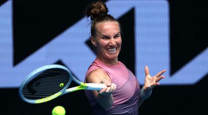 Кузнецова уступила Азаренко в первом круге турнира WTA в Дохе