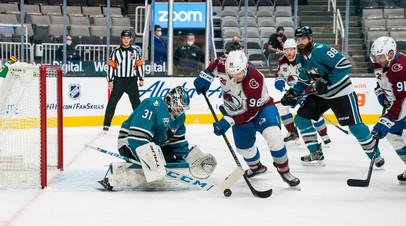 Сан-Хосе Кныжова разгромил Колорадо Ничушкина в матче НХЛ