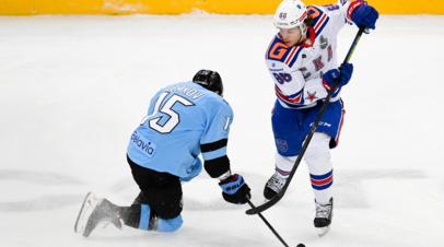 СКА обыграл минское «Динамо» в овертайме матча плей-офф КХЛ