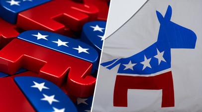 Символика Республиканской и Демократической партий США