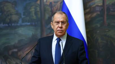 Лавров провёл переговоры с министром иностранных дел Египта