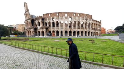 Число случаев коронавируса в Италии превысило 3,3 млн