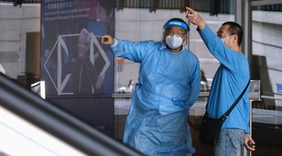 За сутки в КНР выявлено 12 новых случаев коронавируса
