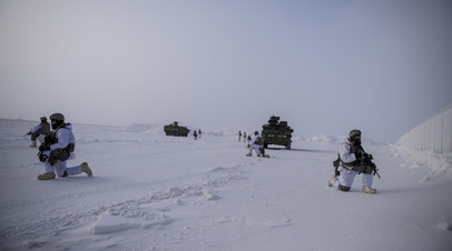 Военные Командования воздушно-космической обороны Северной Америки (NORAD) в Арктике