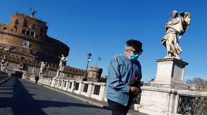 В Италии за сутки выявили более 21 тысячи случаев коронавируса